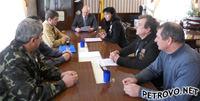 Участники встречи обсуждают положения Соглашения о взаимодействии и сотрудничестве